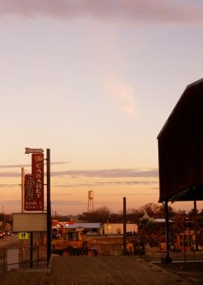 Dinner in Bandera, TX