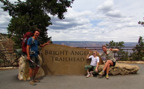 Bright Angel Trailhead, Grand Canyon