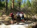 Dear Spring Trailhead. San Jacinto Wilderness.