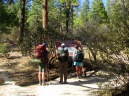 Dear Spring Trailhead. San Jacinto Wilderness.