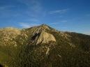 View of Taquitz Peak from Suicide Rock. San Jacinto Wilderness.