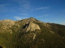 View of Taquitz Peak from Suicide Rock. San Jacinto Wilderness.