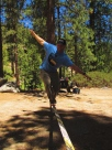 Cartwheel. Buckhorn Campground, Angeles National Forest, SoCal.
